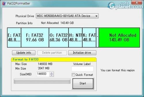 Fat32Formatter 1.1