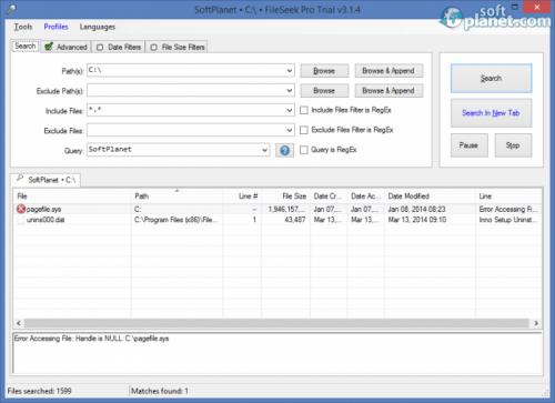 FileSeek Pro 3.3.0.0