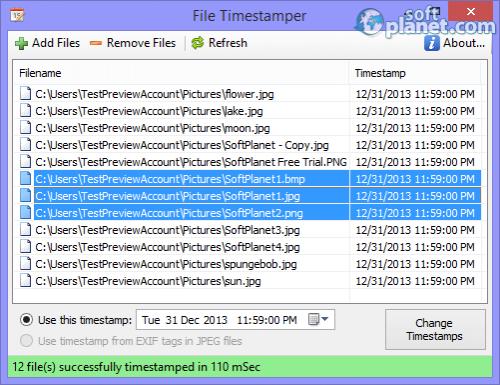 File Timestamper 1.1