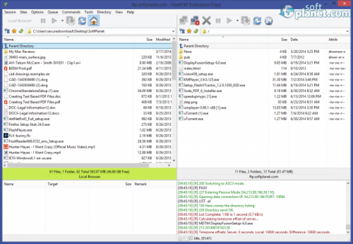 FlashFXP 4.4.4 Build 2046