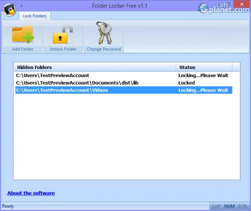 Folder Locker Free 1.0.0.2