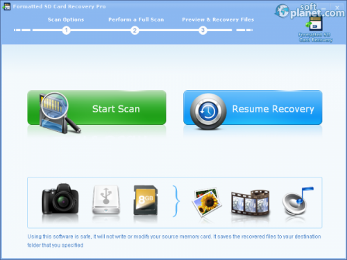 Formatted SD Card Recovery Pro 2.7.1
