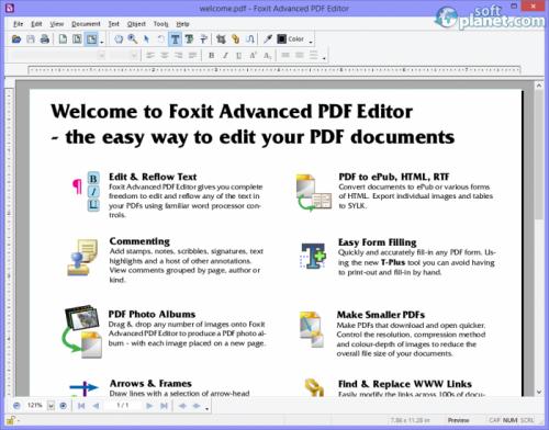 Foxit Advanced PDF Editor 3.10