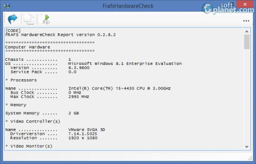 FrafsHardwareCheck 0.2.8.2