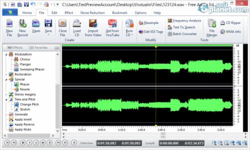 Free Audio Editor 8.6.1