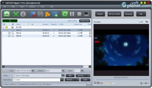Full DVD Ripper Free 9.3