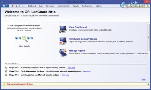 GFI LanGuard 2014 11.3.2014.0512