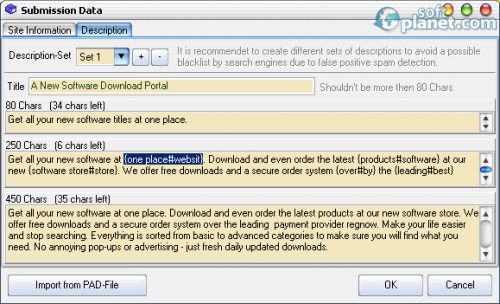 GSA Auto Website Submitter 5.06