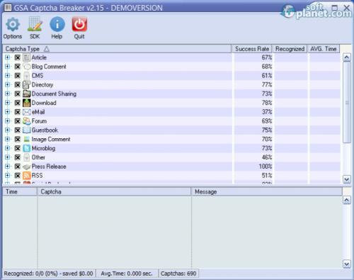 GSA Captcha Breaker 2.63