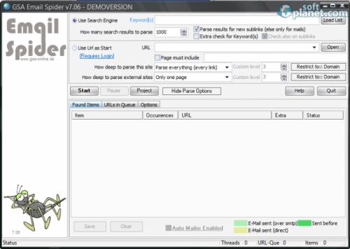 GSA Email Spider 7.09