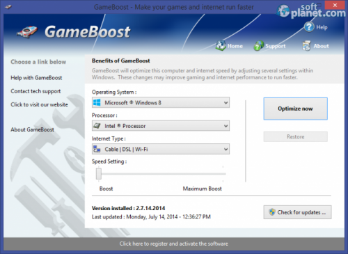 GameBoost 2.9.1.2014