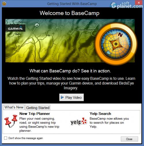 Garmin BaseCamp 4.3.4