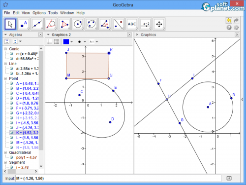 Download the latest version of GeoGebra free in ... - ccm.net