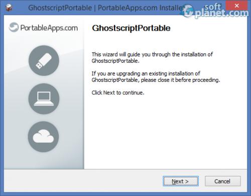 Ghostscript Portable 9.10