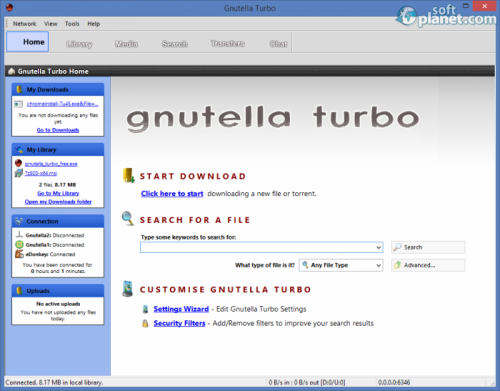 Gnutella Turbo 7.8.0.0