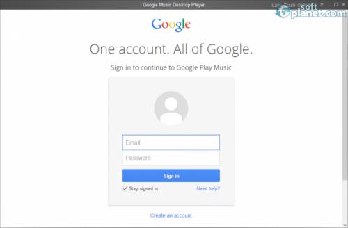 Google Music Desktop Player 1.8.5