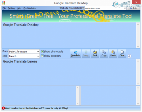 Google Translate Desktop 2.1.92