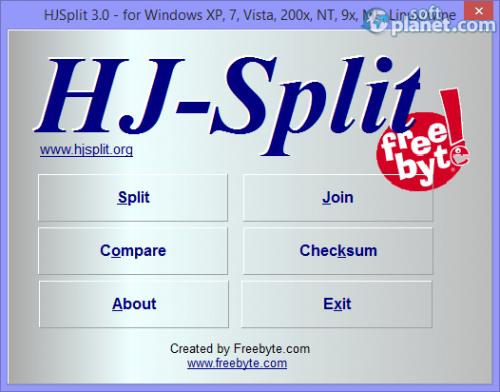 HJSplit 3.0