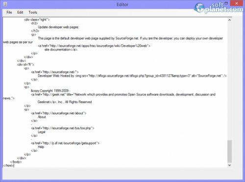 HTML Editor 2.1.5.0