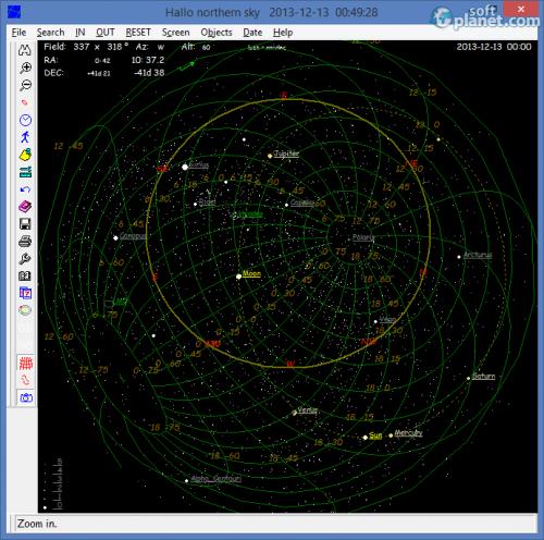 Hallo northern sky 2.4.0b