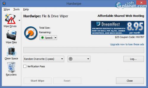 Hardwipe 3.1.1 Portable