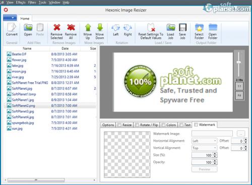 Hexonic Image Resizer 0.6.2.0