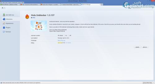 Hola Unblocker 1.3.137