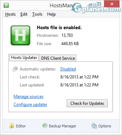 HostsMan Portable 4.3.100