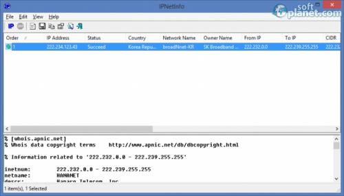 IPNetInfo 1.52