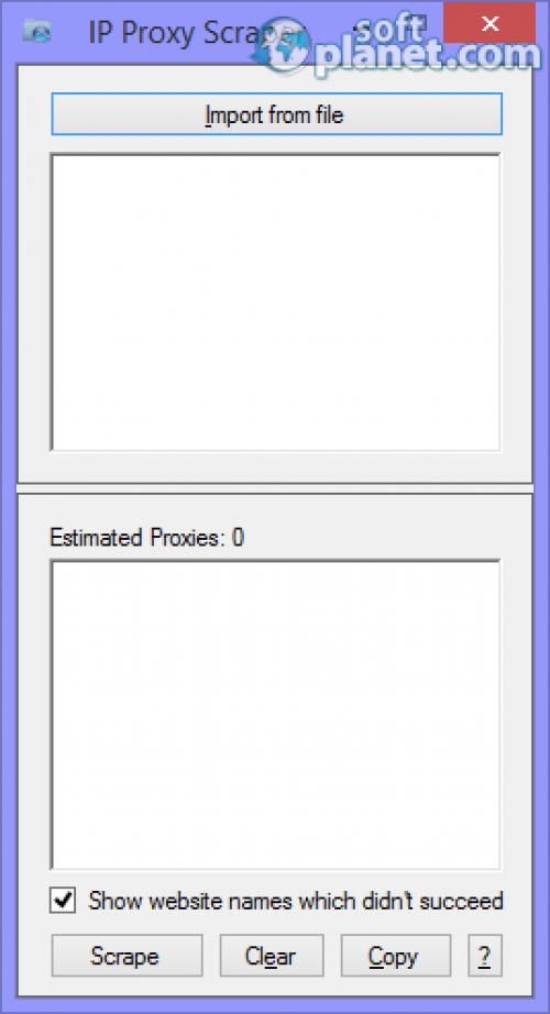 IP Proxy Scraper 2.5.0.1