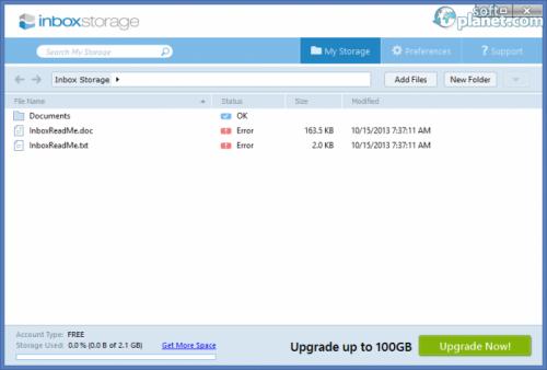 Inbox Storage 1.0.0.31
