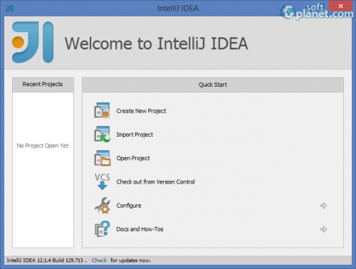 IntelliJ IDEA 12.1.4