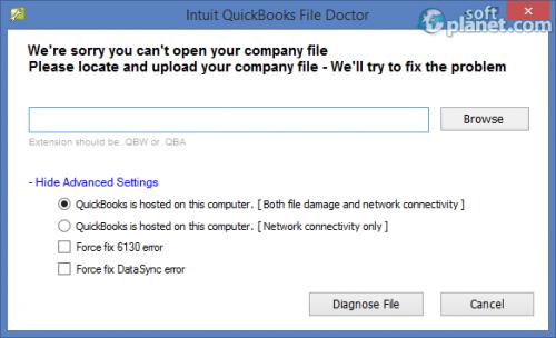 Intuit QuickBooks File Doctor 3.6.2