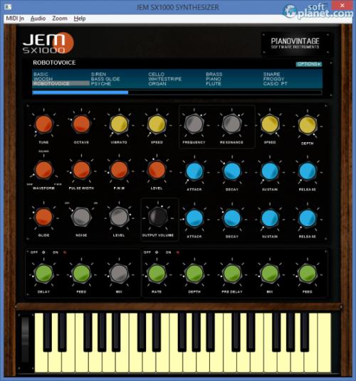 JEM SX1000 Synthesizer 1.0