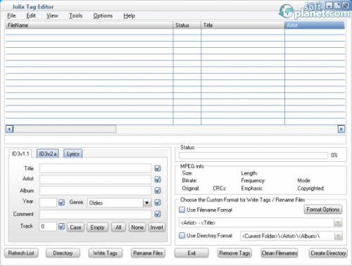 Jolix Tag Editor 1.5.0.0