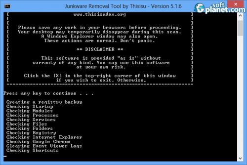 Junkware Removal Tool 5.1.6