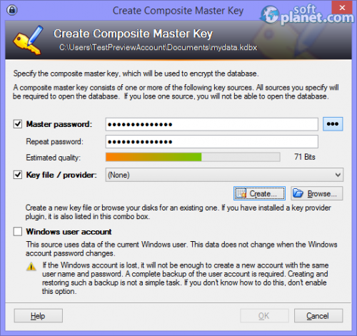 KeePass Password Safe 2.23