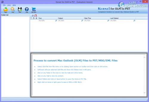 Kernel for OLM to PST 13.06.01