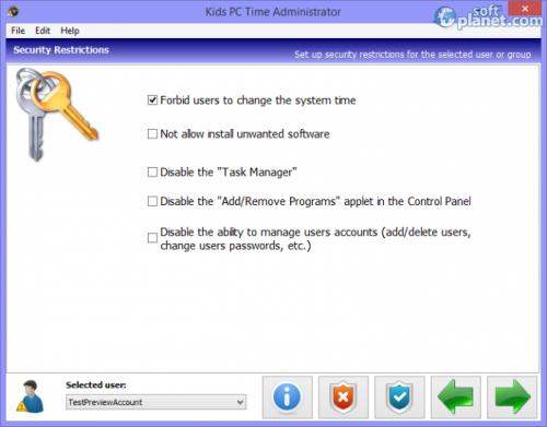 Kids PC Time Administrator 6.1.5.3