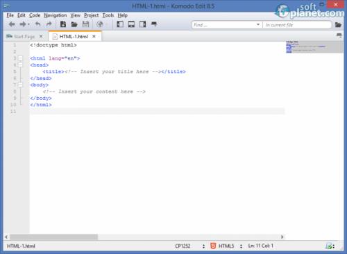 Komodo Edit 8.5.4