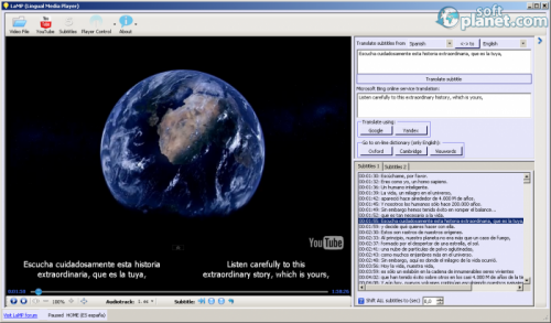 LaMP (Lingual Media Player) 1.7.0