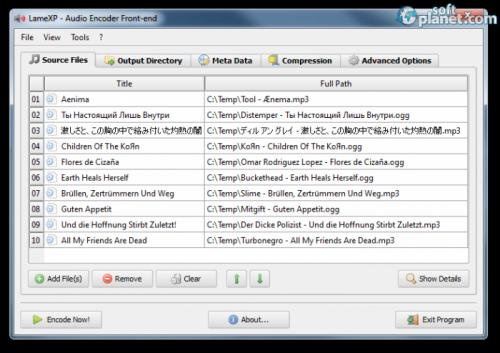 LameXP 4.10 Final Build 1558