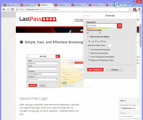 LastPass 3.1.0