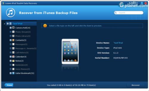 Leawo iOS Data Recovery 1.4.0.0