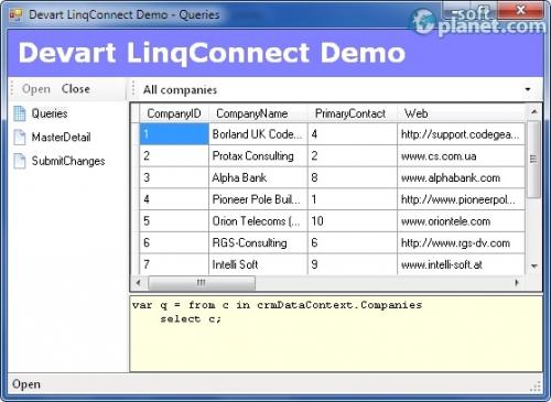 LinqConnect 4.4