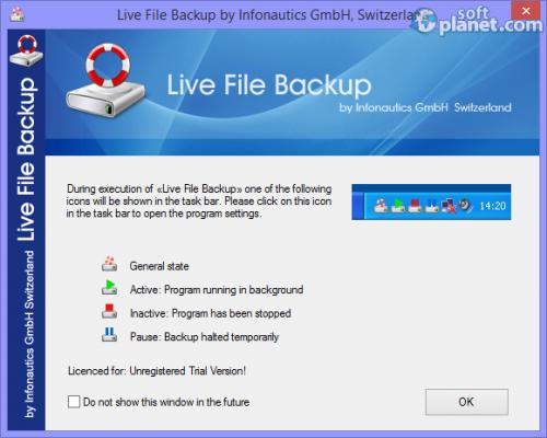 Live File Backup 2.12