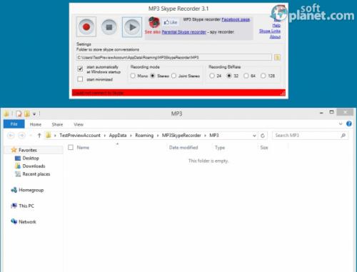 MP3 Skype Recorder 3.1.3
