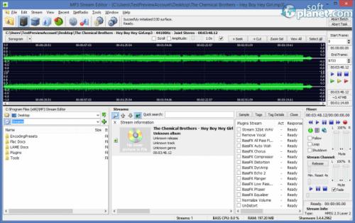 MP3 Stream Editor 3.4.4.2962