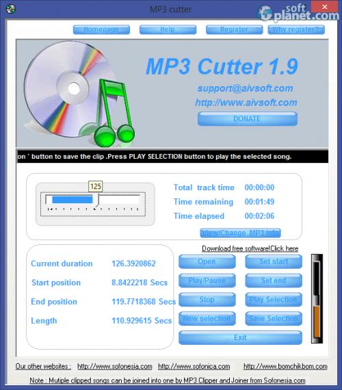MP3 Cutter 1.9