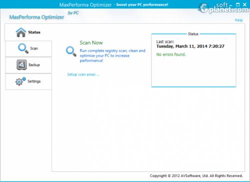 MaxPerforma Optimizer 4.7.10